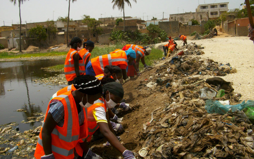 Capacity building: Women trained in waste management