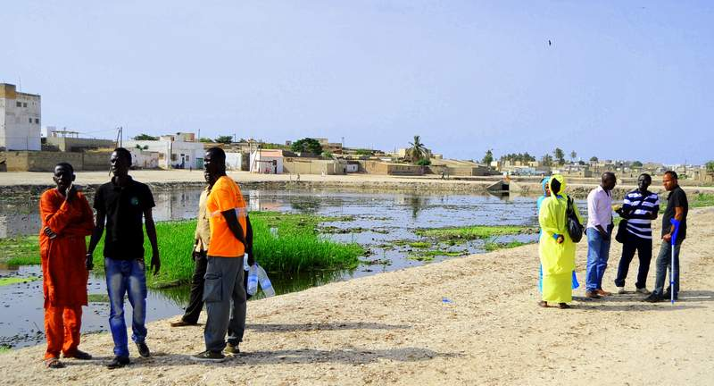 Pilot launch: Community analysis of flooding in quartier